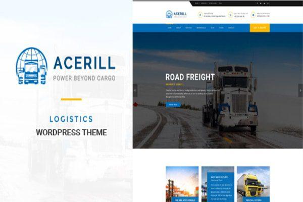 Acerill auto service WordPress theme