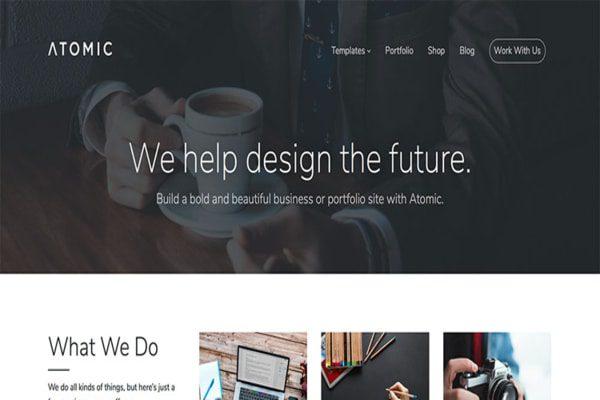 Atomic WordPress theme