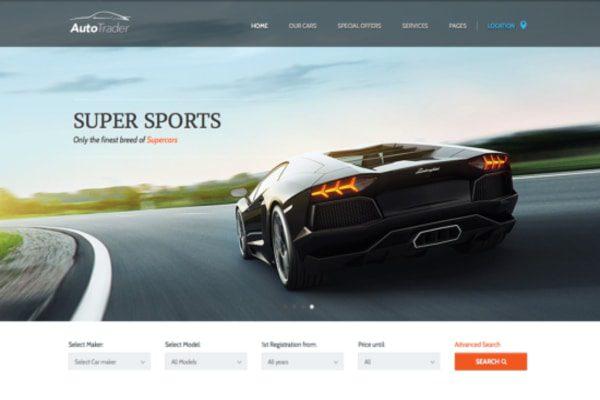 Autotrader WordPress theme