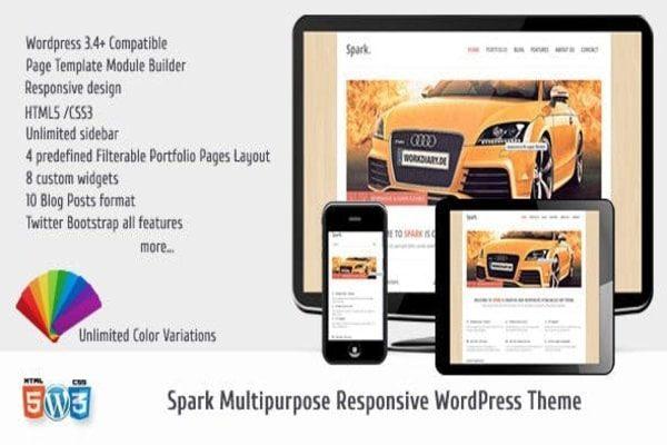 Spark Multi-purpose WordPress theme