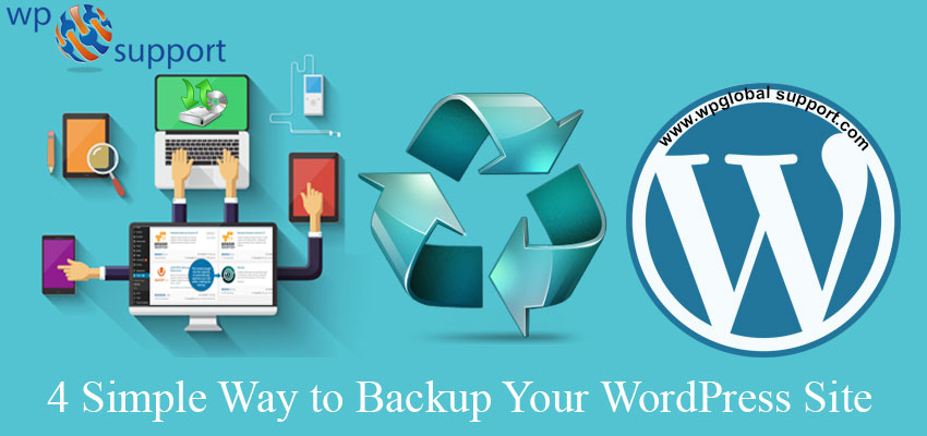 4 Simple Way to Backup Your WordPress Site