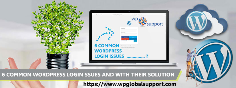 6 Common WordPress Login Issues and with their solution