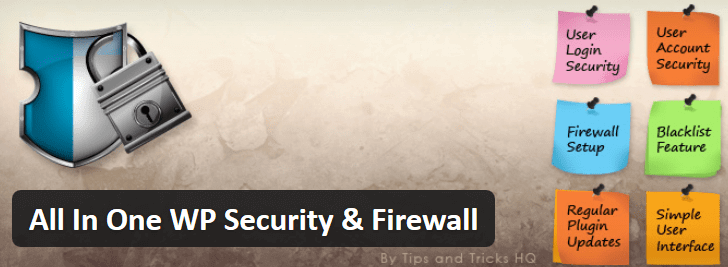 All In One - WordPress Security plugins