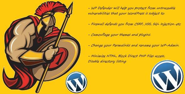 Defender WordPress security plugin
