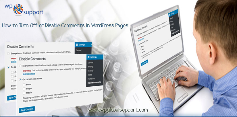 how to add comments to a page in wordpress