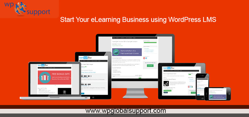 Start Your eLearning Business using WordPress LMS