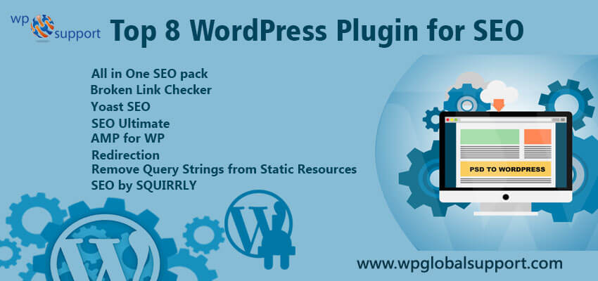 Top 8 WordPress Plugin for SEO