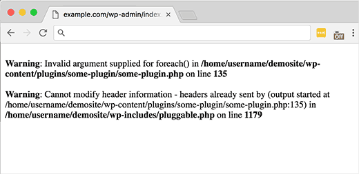 Pluggable.php File Errors