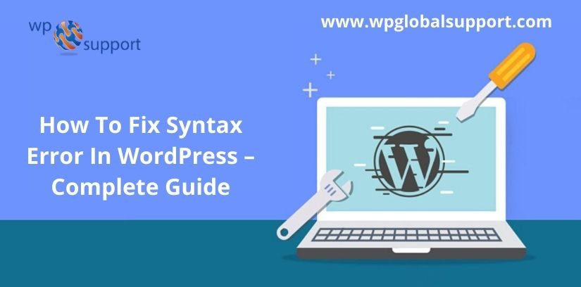 How To Fix Syntax Error In WordPress – Complete Guide