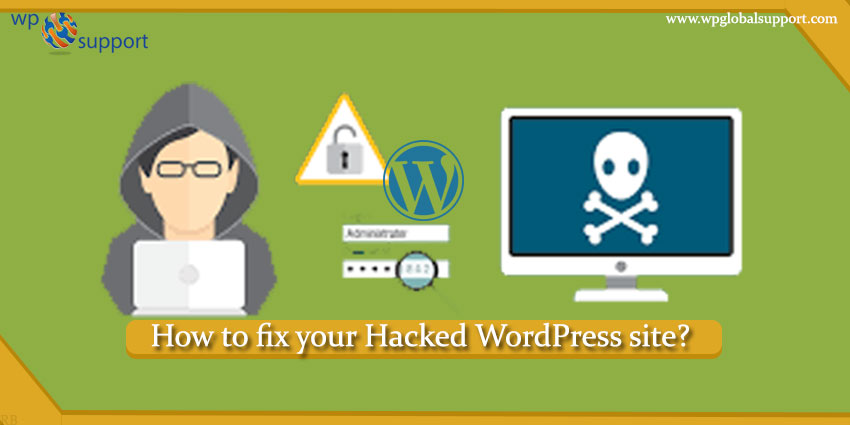 How to fix your Hacked WordPress site?