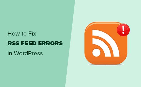 fix-wordpress-rss-feed-errors