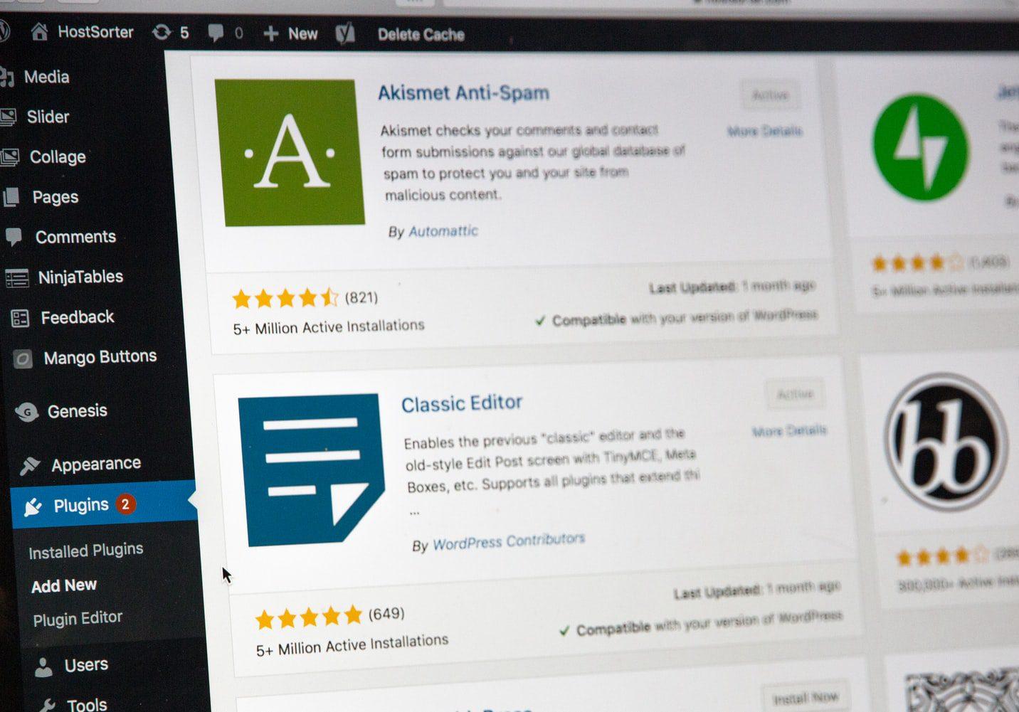 wordpress-admin-dashboard-display