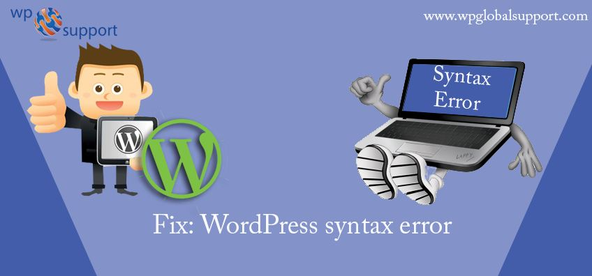 Fix: WordPress syntax error