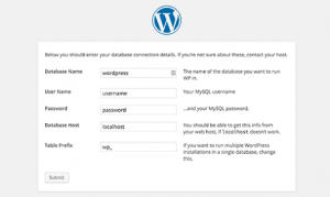 WordPress Form