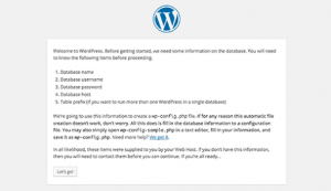 Installation Instructions WordPress