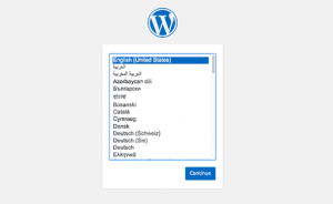Language Preference cPanel WordPress
