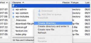 Create Directory in SubDirectory