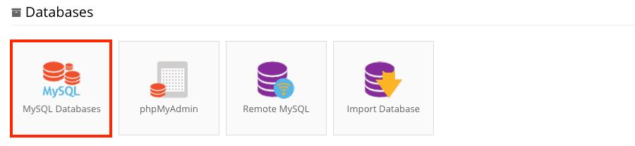 mysql database management