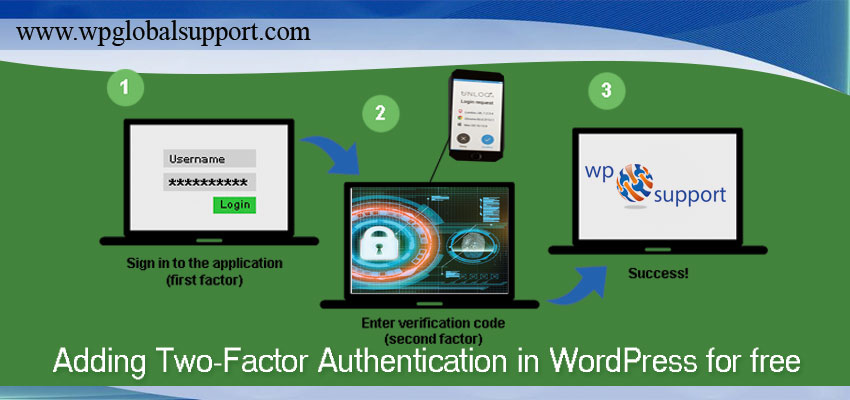 Adding Two-Factor Authentication in WordPress for free