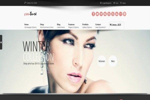 Couture WP E-commerce & designers theme