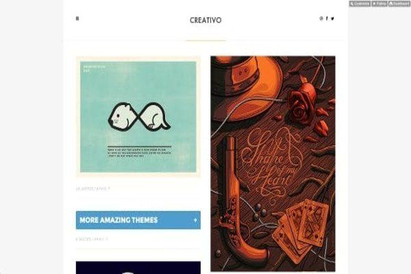 Creativo Web designers theme