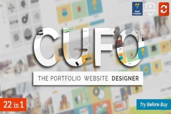 Cufo WordPress designer theme