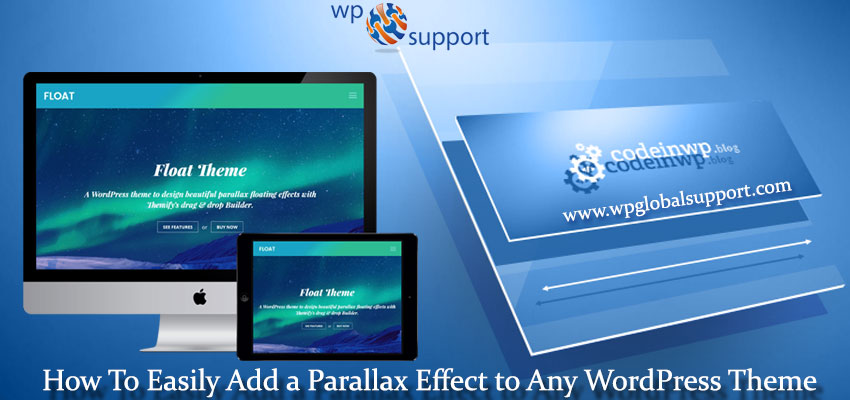 How To Easily Add a Parallax Effect to Any WordPress Theme