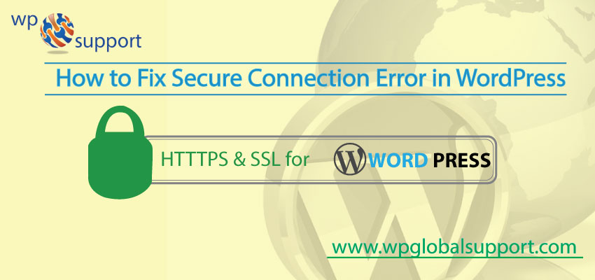 How to Fix Secure Connection Error in WordPress