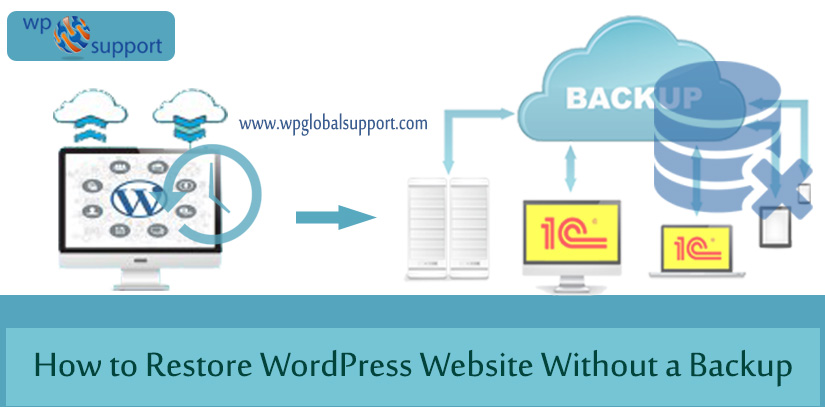 How to Restore WordPress Website Without a Backup