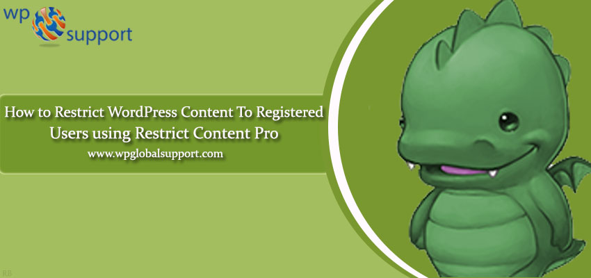 How to Restrict WordPress Content to Registered Users using Restrict Content Pro