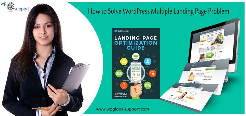 Multiple Landing Page Problem