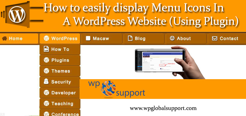 Update How To Add Icons To Wordpress Menus: How To Easily Display Menu Icons In A WordPress Website