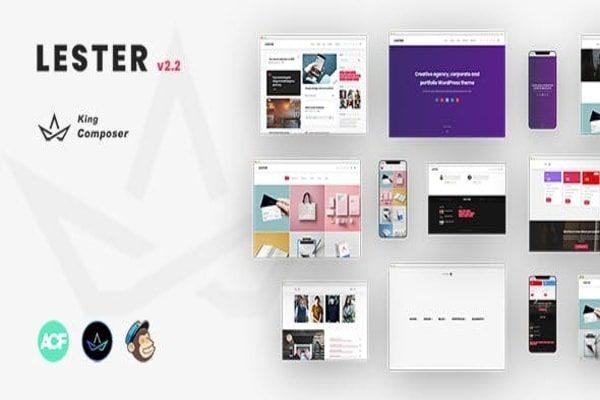 Lester Multi-purpose WP theme