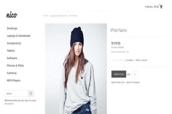 Nico Website theme