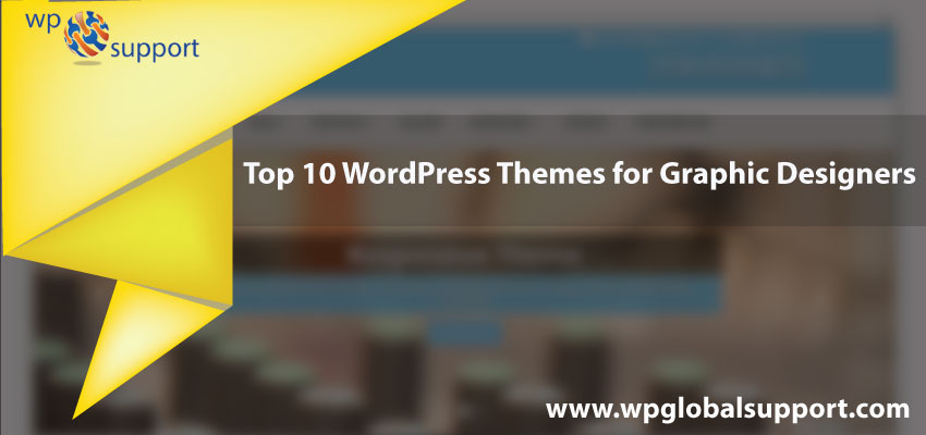Top 10 WordPress Themes for Graphic Designers