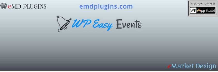 9. WP Easy Events