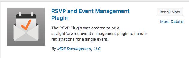 4. RSVP and Event Management Plugin