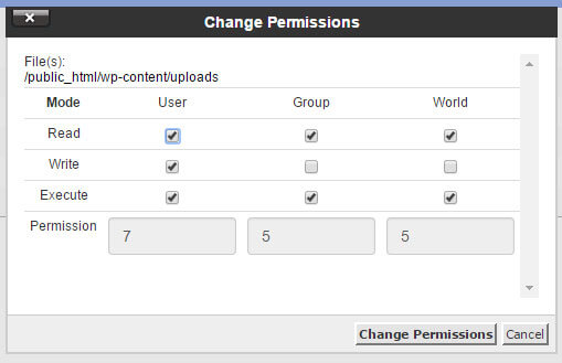 wp-permission
