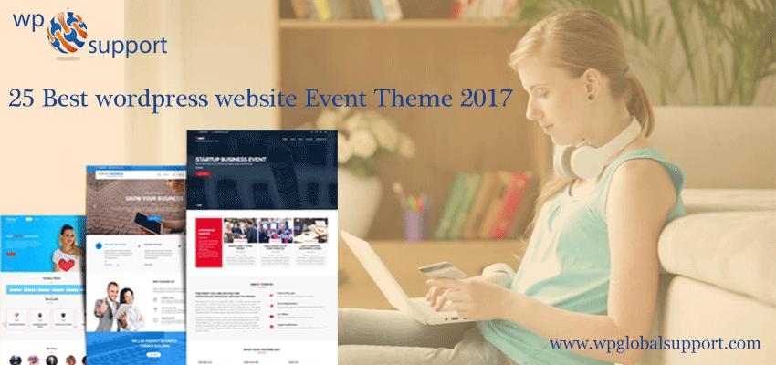 25 Best wordpress website Event Theme 2017