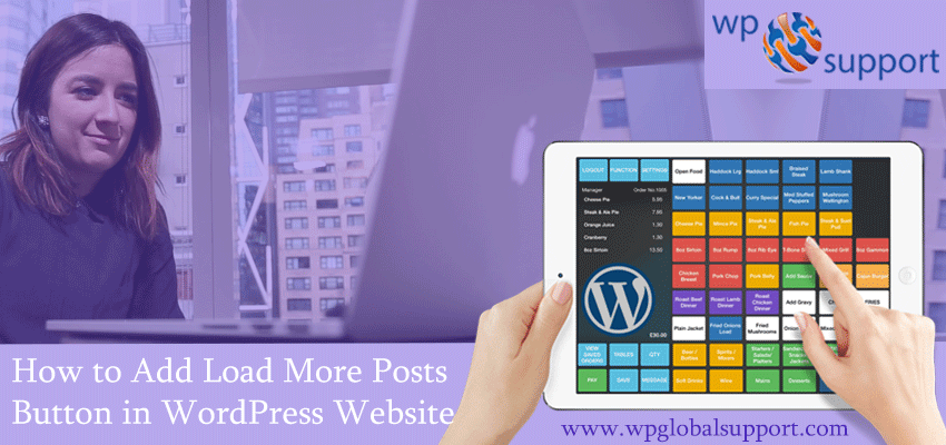 How to Add Load More Posts Button in WordPress Website