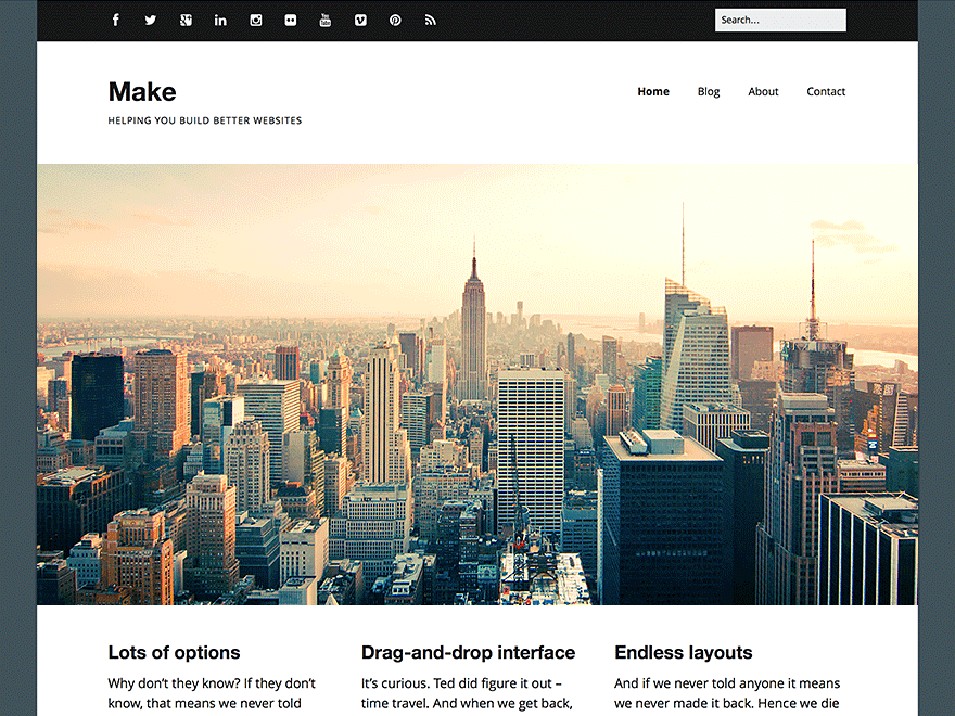 Make-WordPress-Theme