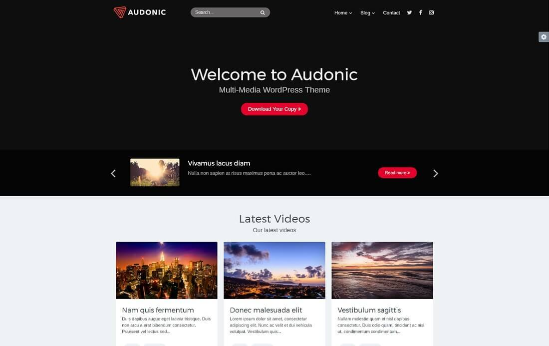 WordPress Podcasters Themes
