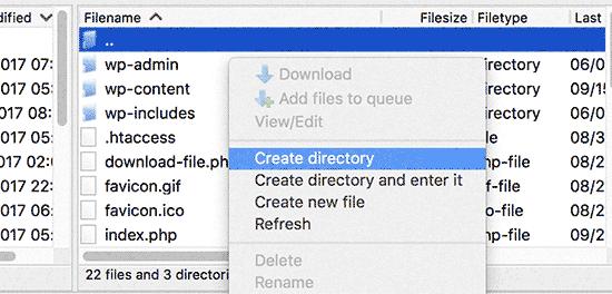 create-subdirectory