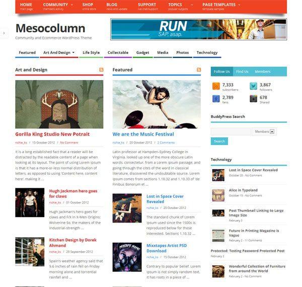 FreeWooCommerce Themes