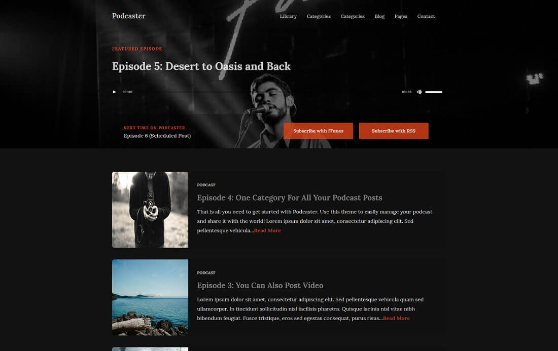 podcaster Start your own Podcast with WordPress