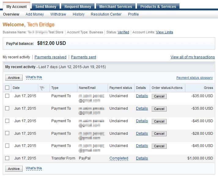 WooCommerce PayPal Sandbox