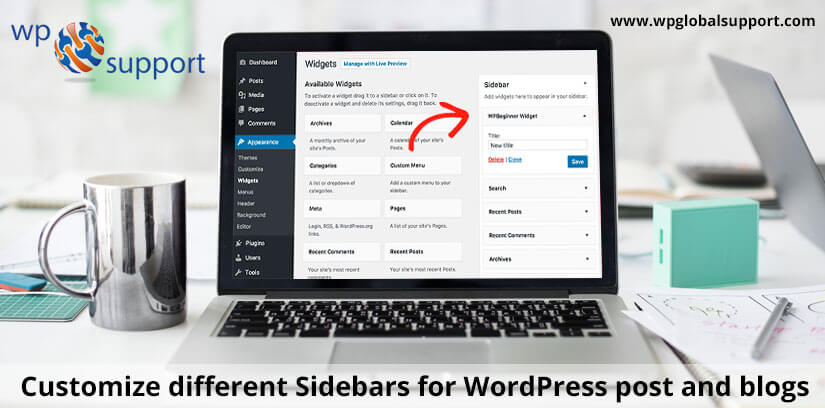 Customize different Sidebars for WordPress post and blogs