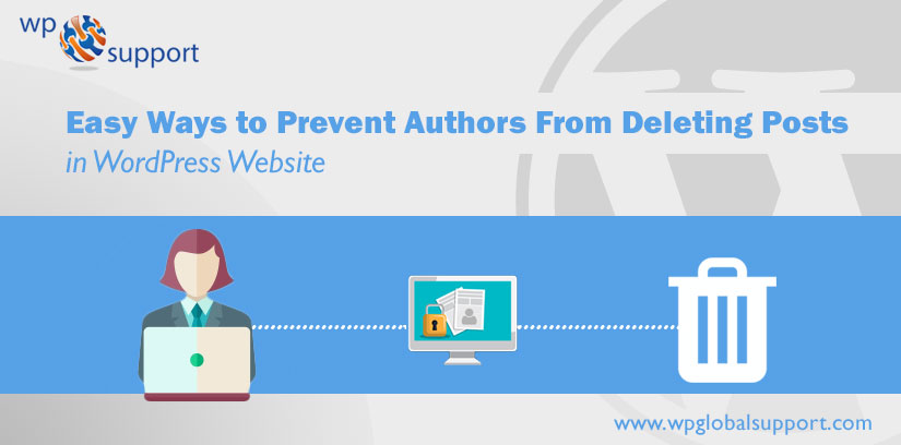Prevent Authors From Deleting Posts in WordPress Website