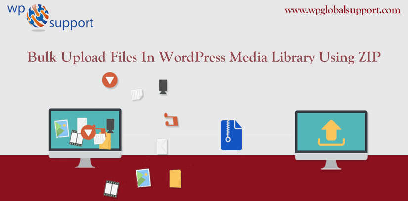 How to Bulk Upload Files In WordPress Media Library Using ZIP