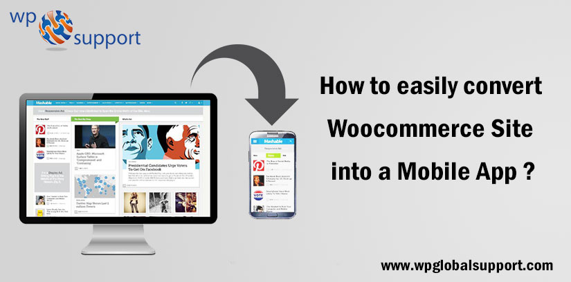 How to easily convert Woocommerce Site into a Mobile App?